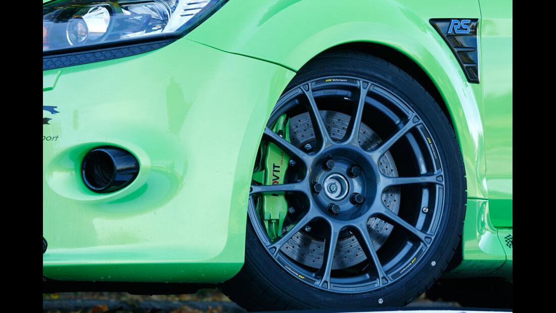 Raeder-Ford Focus RS, Bremsanlage, Felge