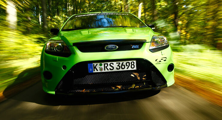 Raeder-Ford Focus RS, Front