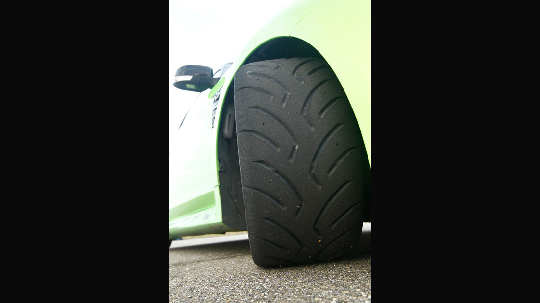 Raeder-Ford Focus RS, Rad