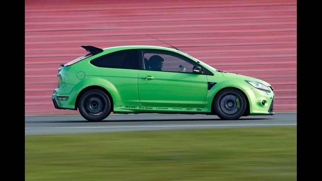 Raeder-Ford Focus RS, Seitenprofil
