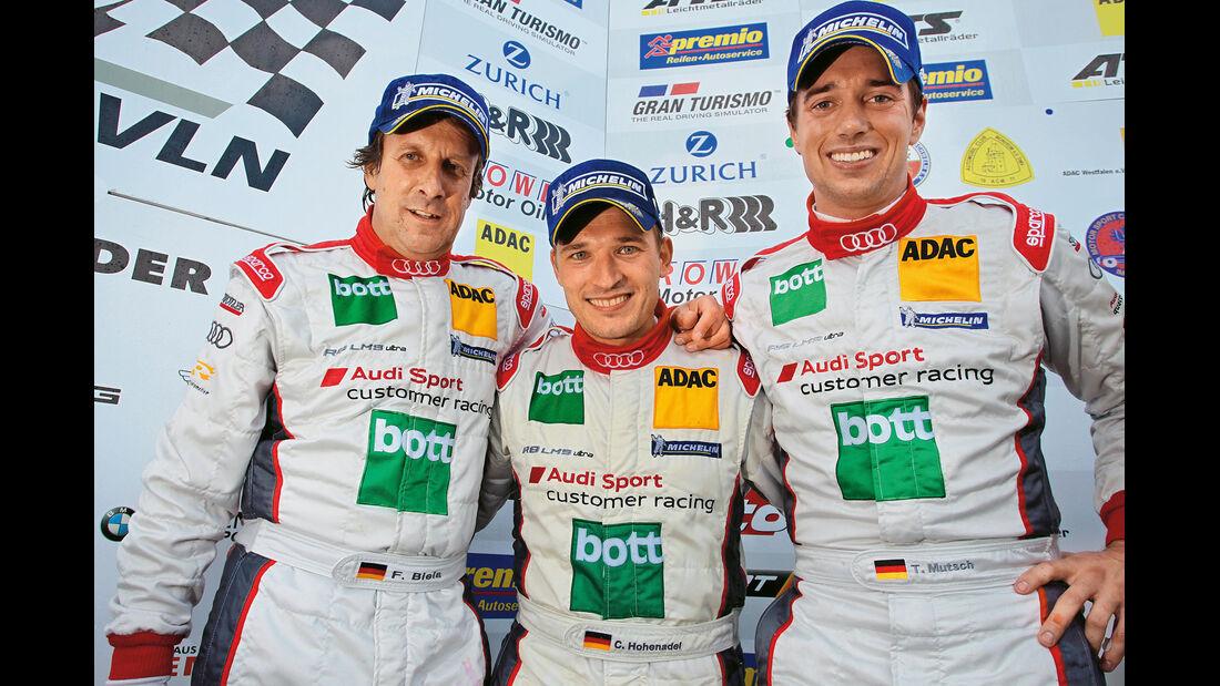 Raeder-Team, Biela, Hohenadel, Mutsch