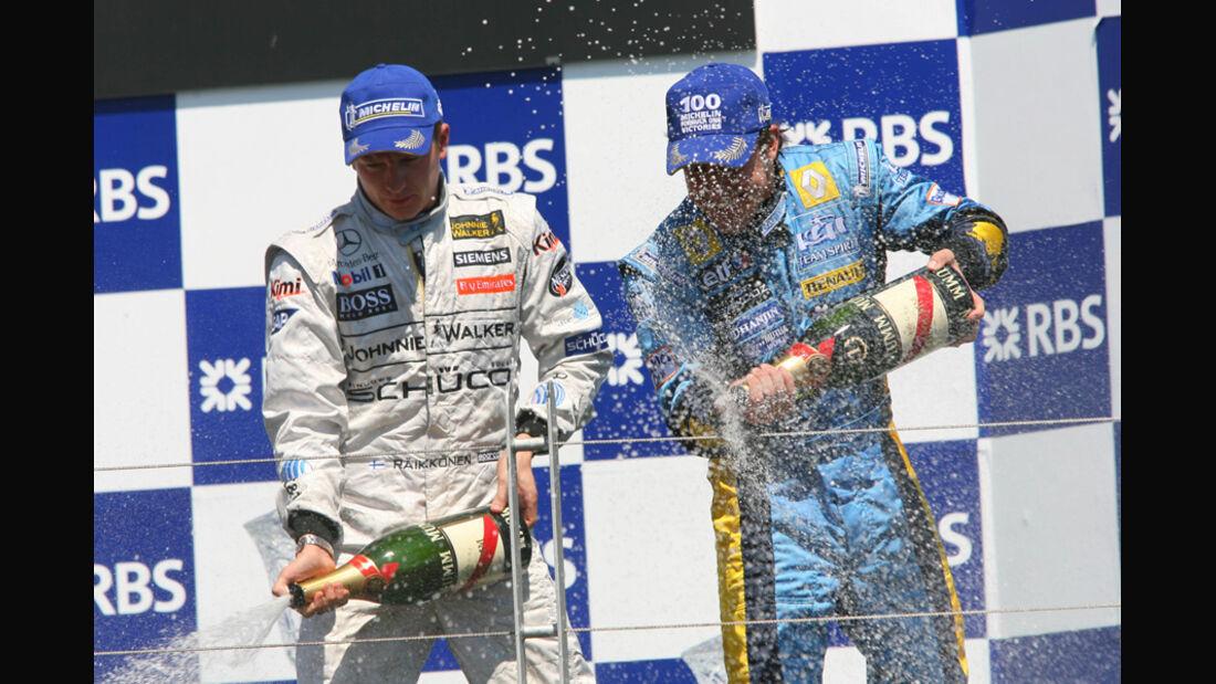 Räikkönen Alonso 2006