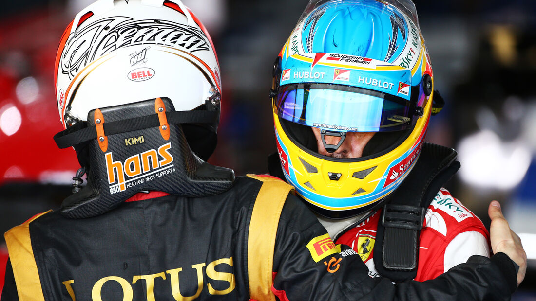 Räikkönen & Alonso 2013