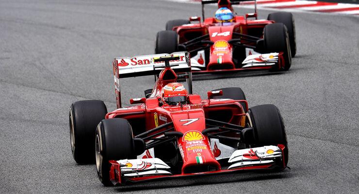 Räikkönen & Alonso - GP Spanien 2014