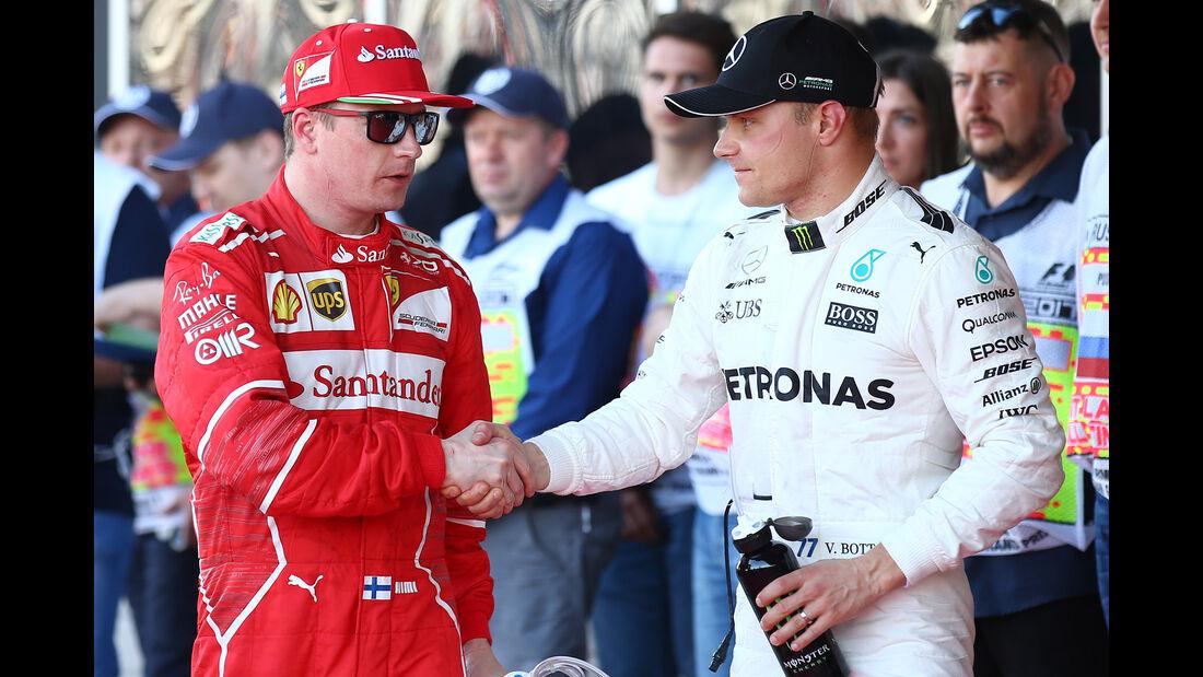 Räikkönen & Bottas - Formel 1 - GP Russland - Sotschi - 29. April 2017