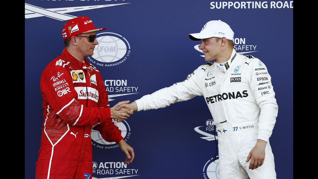 Räikkönen & Bottas - GP Abu Dhabi 2017