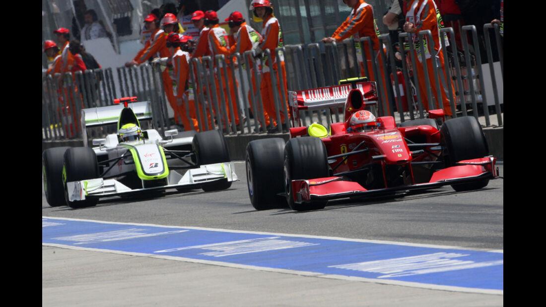 Räikkönen Button 2009
