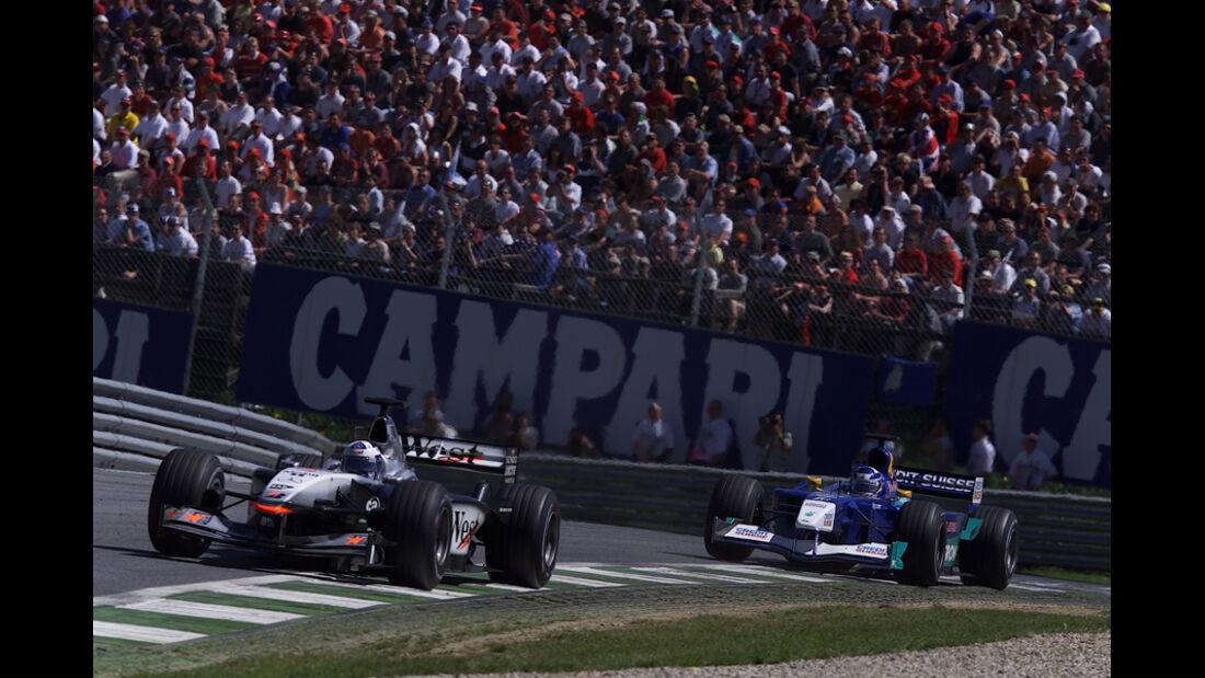 Räikkönen & Coulthard 2001 GP Österreich