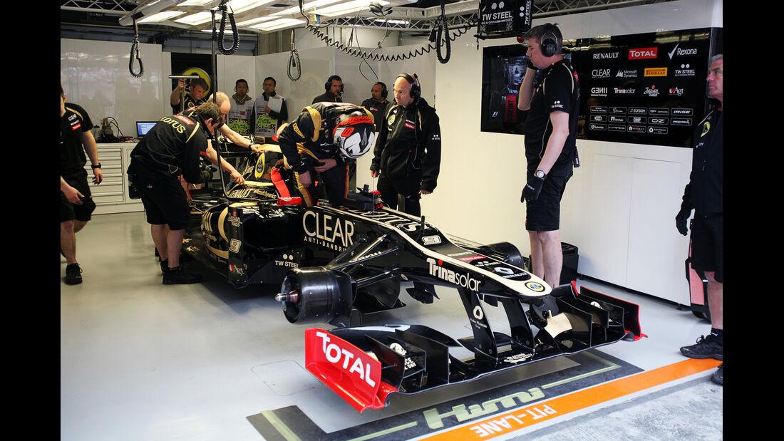 Räikkönen - Formel 1 - GP China - 13. April 2012