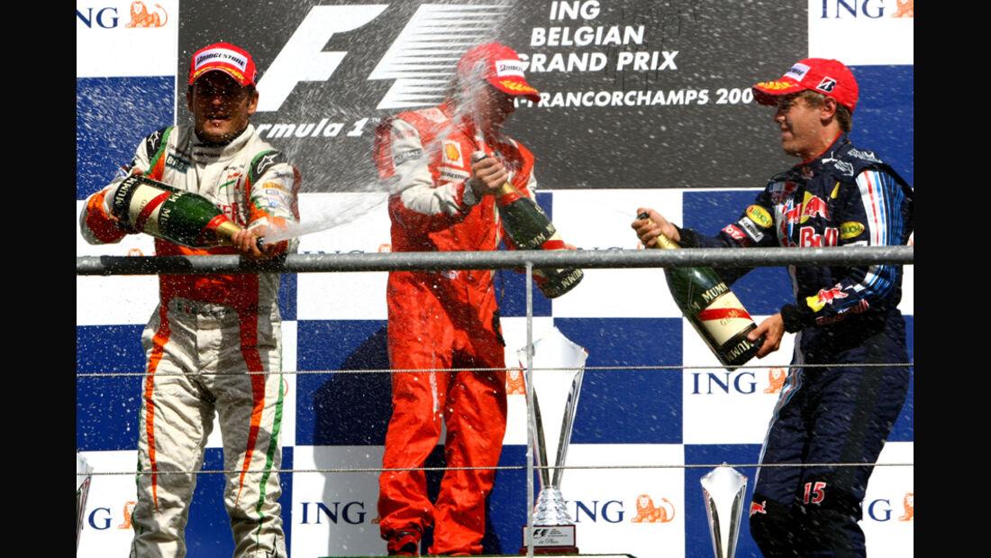 Räikkönen GP Belgien 2009
