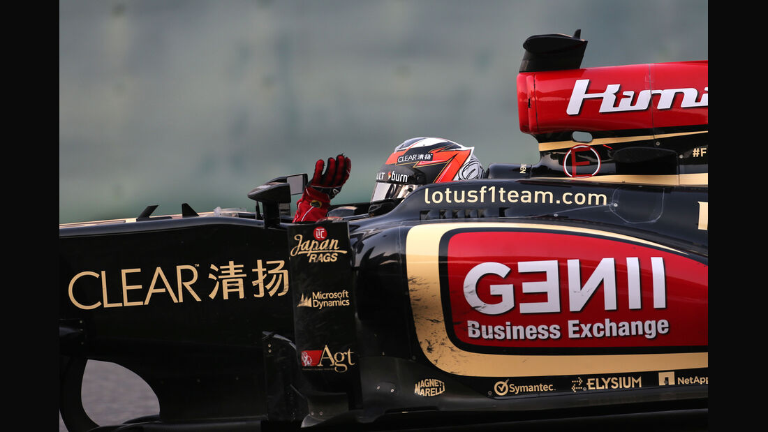 Räikkönen GP China 2013