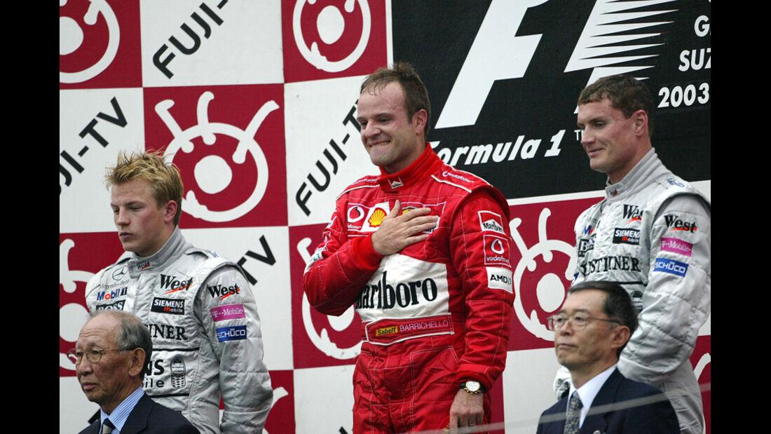 Räikkönen GP Japan 2003