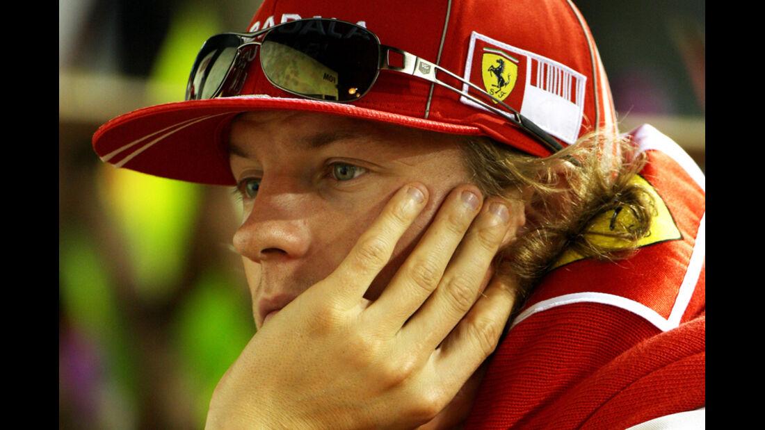 Räikkönen GP Singapur 2009