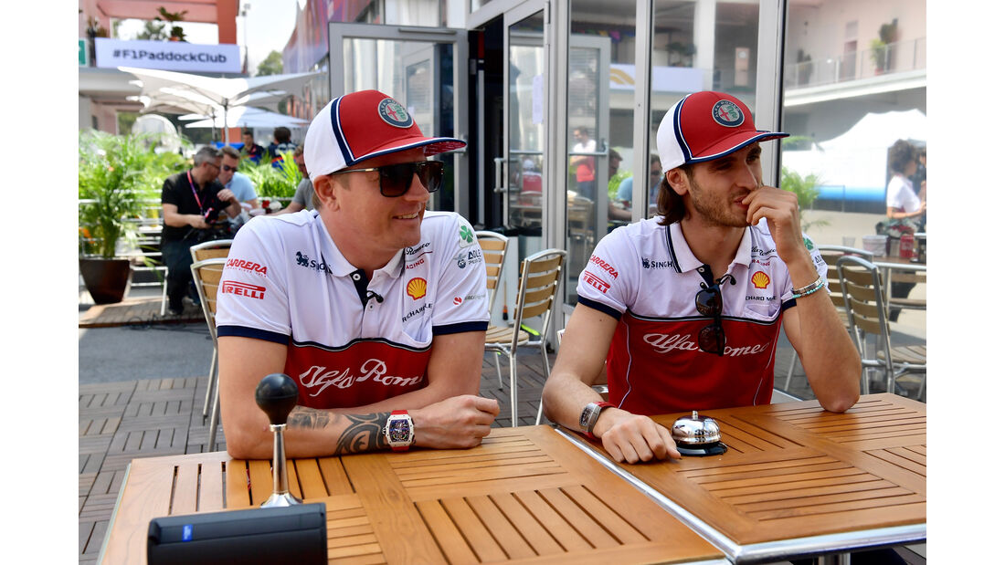 Räikkönen & Giovinazzi - Alfa Romeo - Formel 1 - GP Mexiko - 24. Oktober 2019