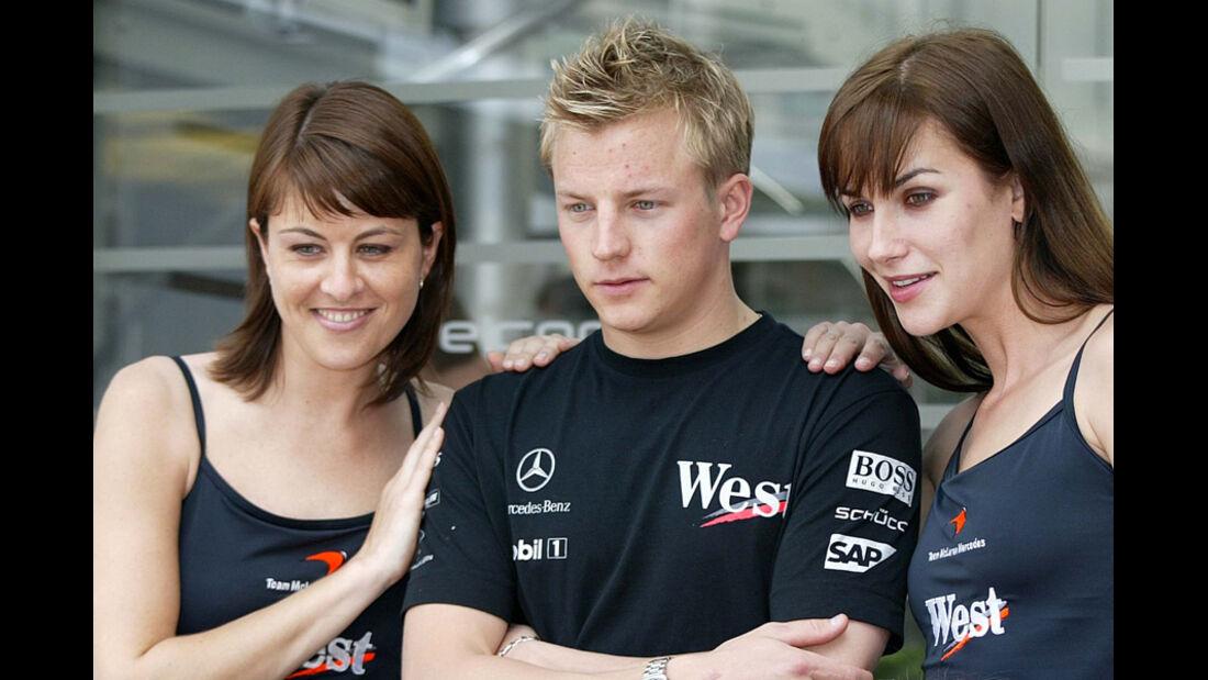 Räikkönen Girls 2004