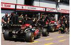 Räikkönen & Grosjean - Lotus - Formel 1 - GP Monaco - 23. Mai 2013