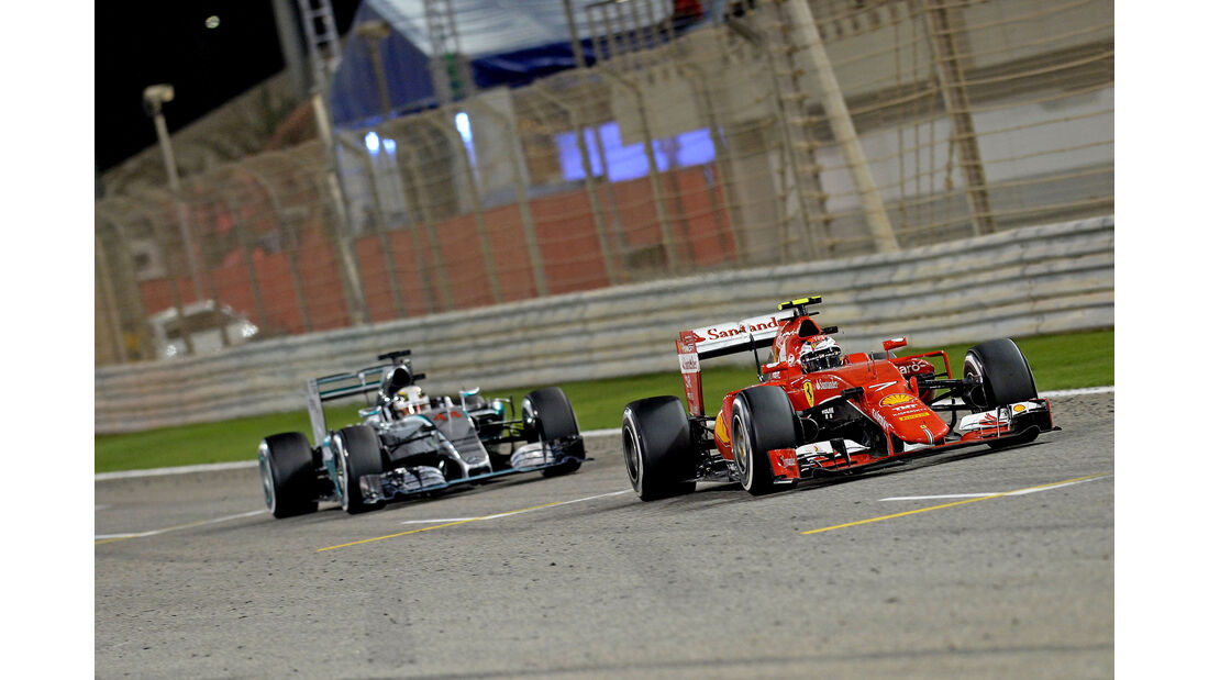 Räikkönen & Hamilton - Formel 1 - GP Bahrain 2015