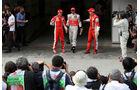 Räikkönen Hamilton Massa 2008