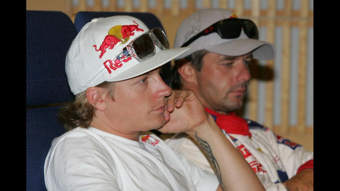 Räikkönen Loeb WRC 2010