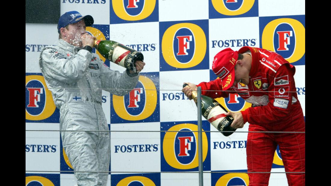 Räikkönen McLaren GP Australien 2002
