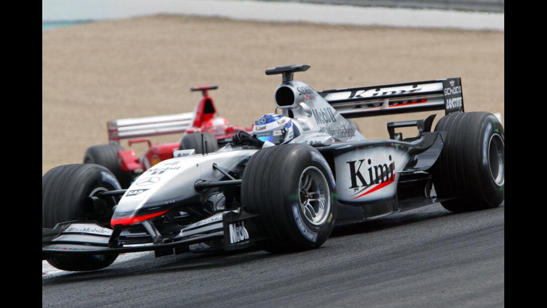 Räikkönen McLaren GP Frankreich 2002