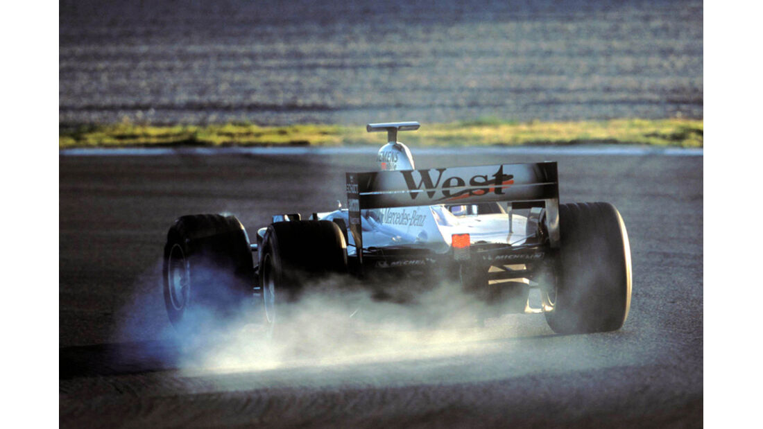 Räikkönen McLaren Test 2002