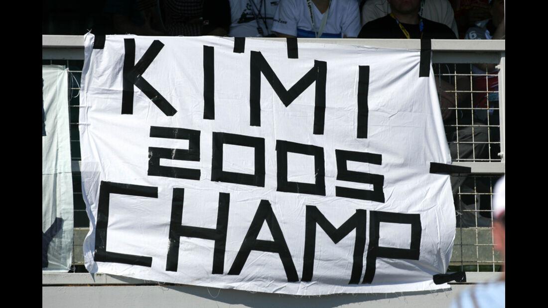 Räikkönen Plakat 2005