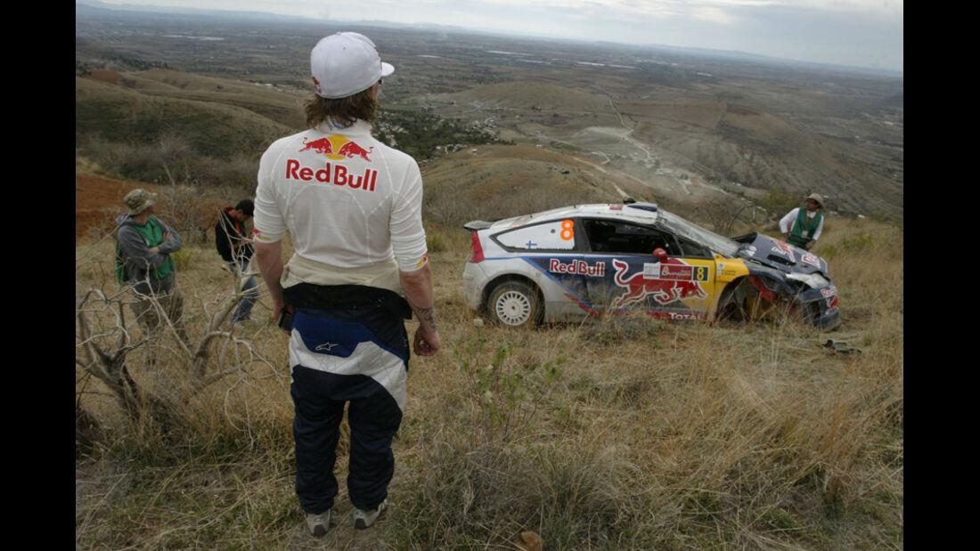 Räikkönen Rallye Mexiko 2010