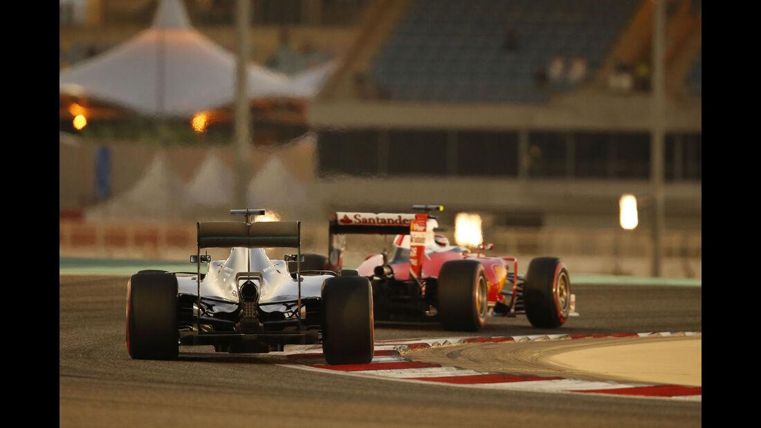 Räikkönen & Rosberg - Formel 1 - GP Bahrain - 2. April 2016