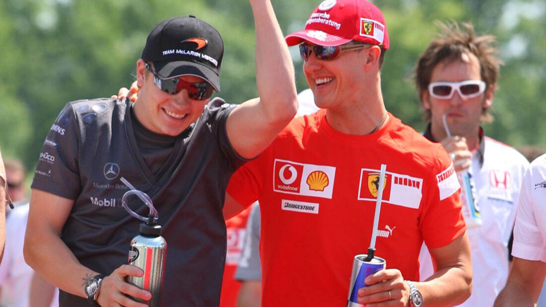 Räikkönen Schumacher 2006