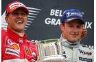 Räikkönen Schumacher GP Belgien 2004