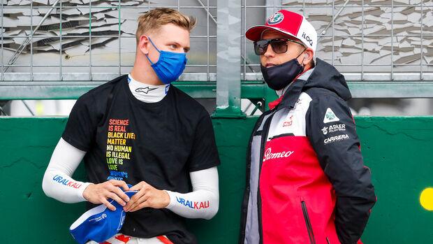 Räikkönen & Schumacher - GP Ungarn 2021
