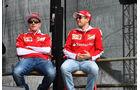 Räikkönen & Vettel - Ferrari - Formel 1 - GP Australien - Melbourne - 19. März 2016
