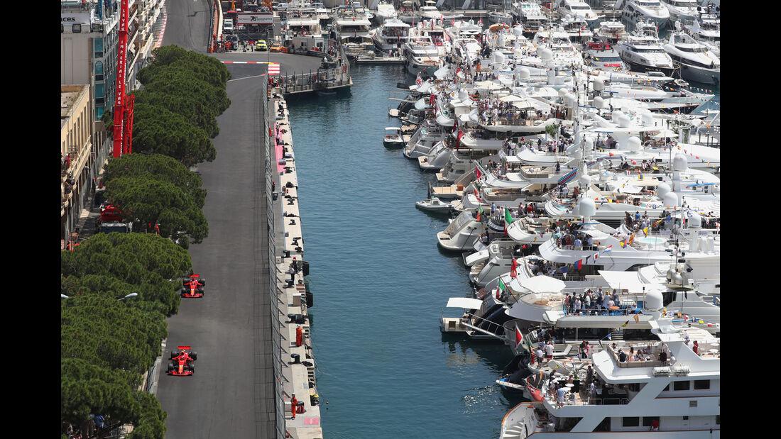 Räikkönen - Vettel - Ferrari - GP Monaco 2018