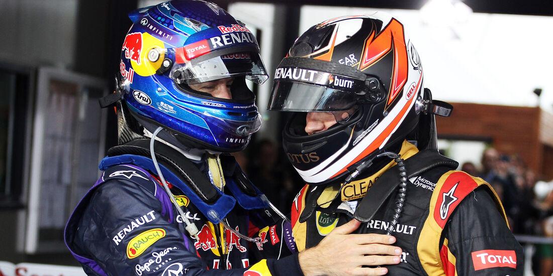 Räikkönen & Vettel - Formel 1 2013