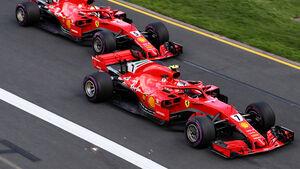 Räikkönen & Vettel - GP Australien 2018