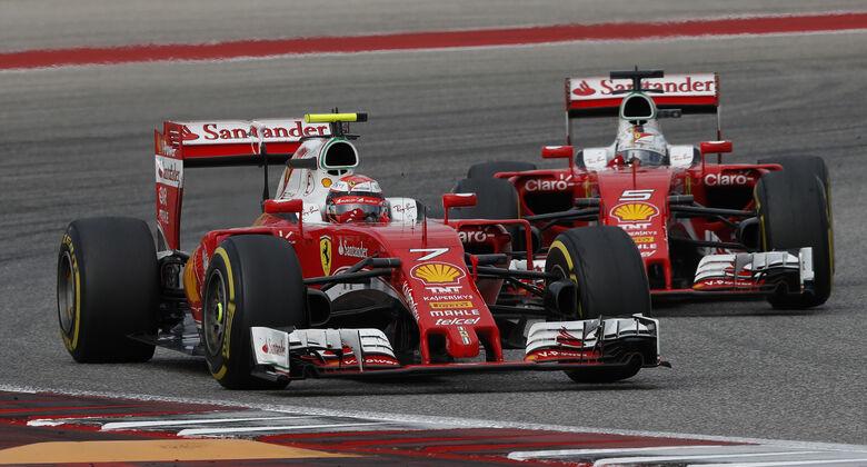 Ferrari im Pech