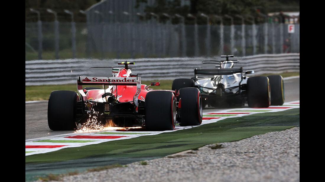 Räikkönen vs. Hamilton - Formel 1 - GP Italien - Monza - 1. September 2017