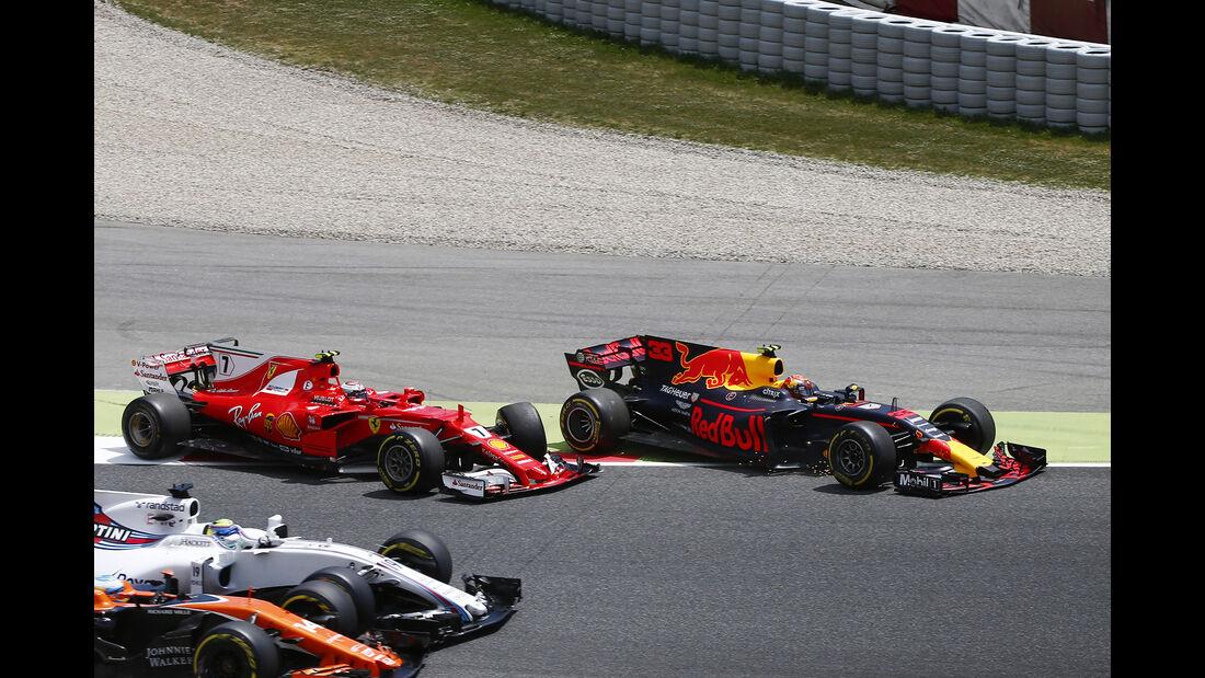 Räikkönen vs. Verstappen - GP Spanien 2017