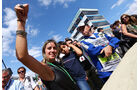 Rafaela Bassi - Frau Felipe Massa - Formel 1 - GP Brasilien - 9. November 2014
