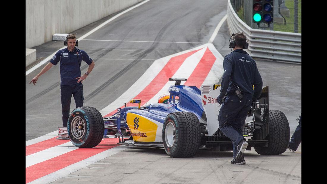 Raffaele Marciello - Sauber - Formel 1 - Test - Spielberg - 23. Juni 2015