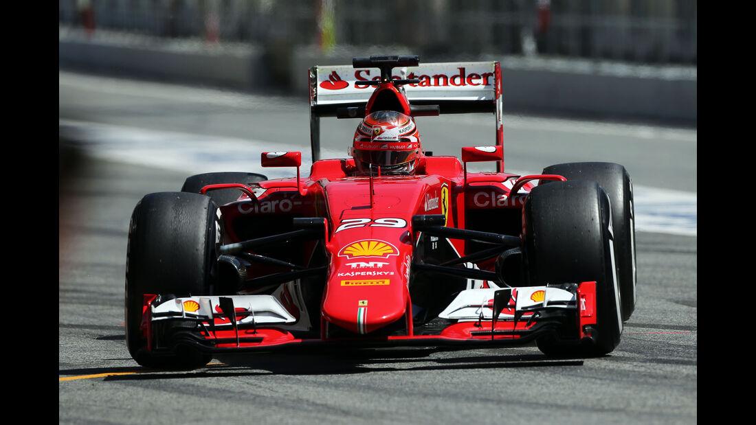 Raffale Marciello - Ferrari - Barcelona-Test - 12. Mai 2015