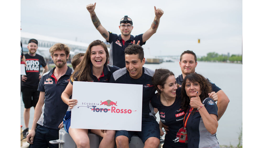 Raft Race - F1 Bootsrennen - GP Kanada 2017