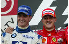 Ralf & Michael Schumacher - GP Japan 2004