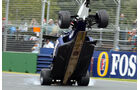 Ralf Schumacher Crash