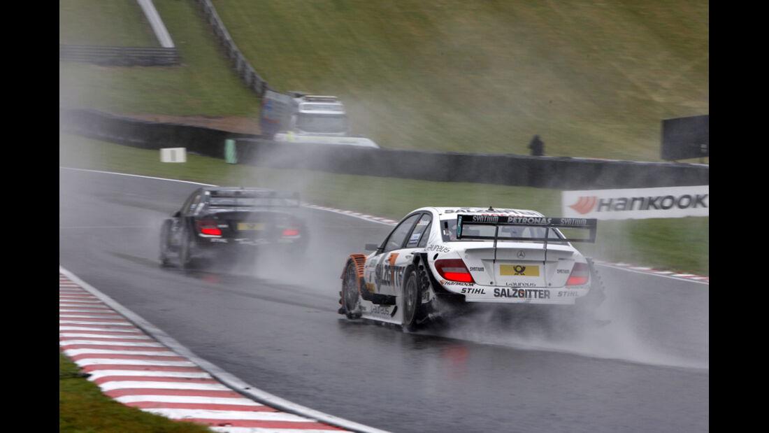 Ralf Schumacher DTM Brands Hatch 2011
