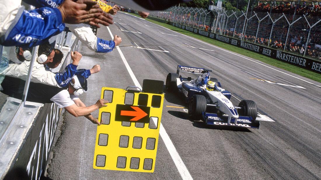 Ralf Schumacher - GP San Marino - Imola - 2001