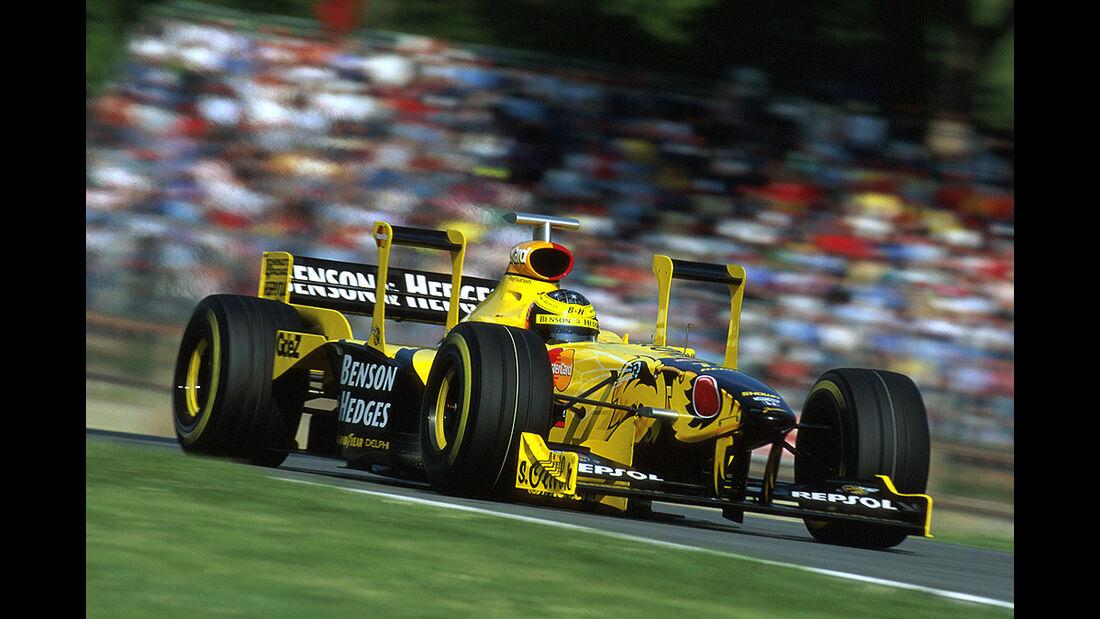 Ralf Schumacher, Jordan-Honda 198