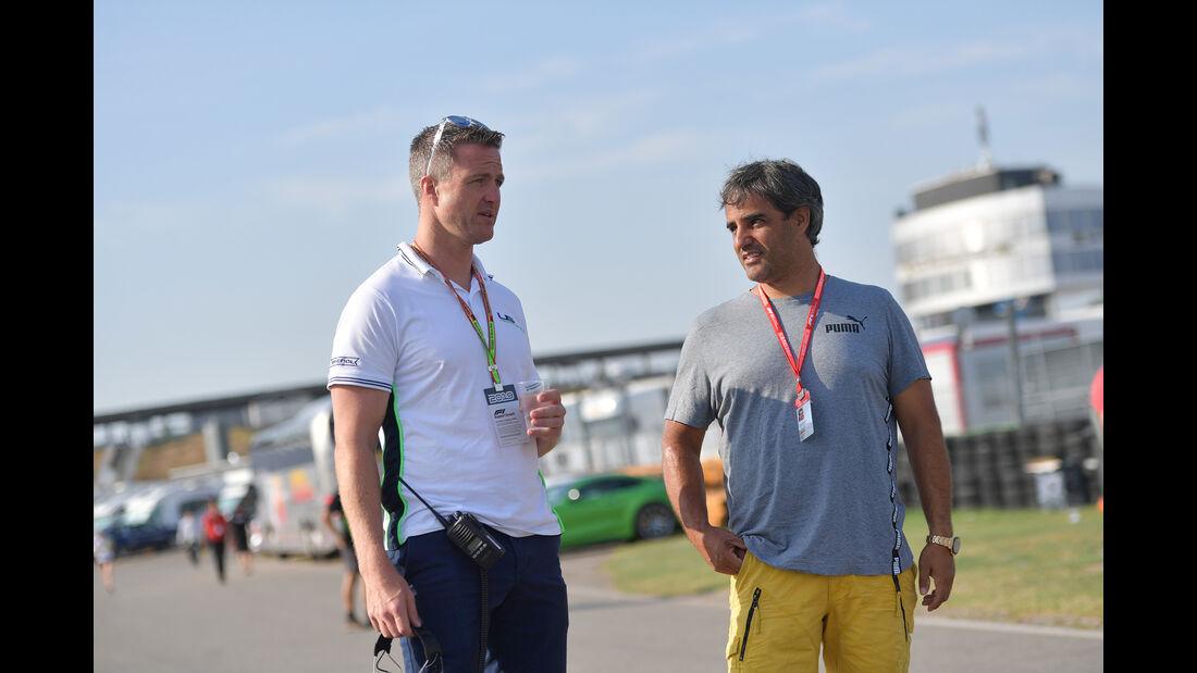 Ralf Schumacher & Juan Pablo Montoya - Formel 1 - GP Deutschland - Hockenheim 2019