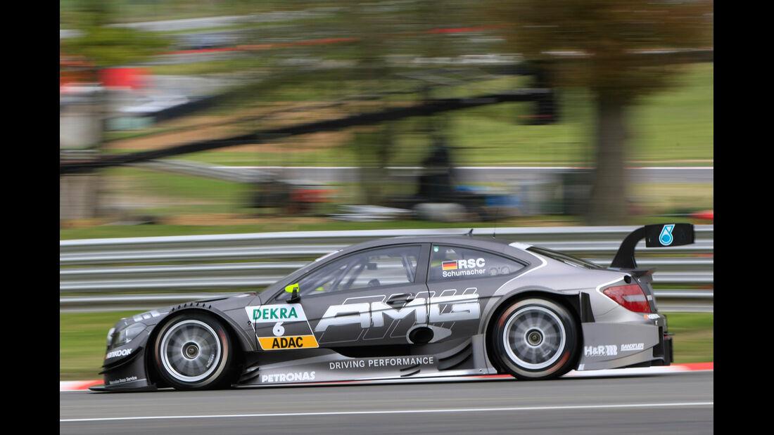 Ralf Schumacher Mercedes DTM Brands Hatch 2012